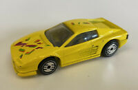 1992 Hotwheels Ferrari Testarossa Yellow Jumpstarters Playset, Very Rare!