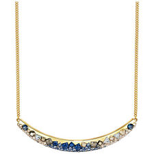 NWT Swarovski Freckle Crystal Pointiage Galaxy Gold-Plated Necklace 5226101