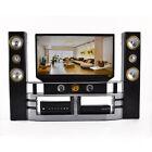 Hi-Fi TV Cabinet Set Combo for Blythe Barbie Doll's Living Room House Furniture