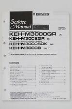 PIONEER KEH-M3000/M3002QR Original Service-Manual/Anleitung/Schaltplan! o58