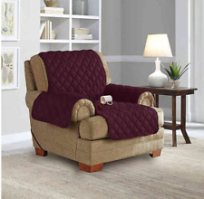 Sure Fit Chair Waterproof Pet Cover Furniture Throw w/Strap Purple