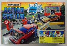 1996 MATCHBOX ACTION SYSTEM No3 SERVICE STATION SET MISB SEALED BRAND NEW