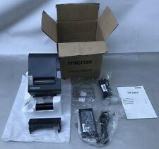 Epson M244a Black Ethernet Thermal Pos Receipt Printer Tm T88v