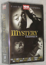Mystery CLASSICI - 100 FILM Detective, THRILLER, Sherlock Holmes DVD COFANETTO