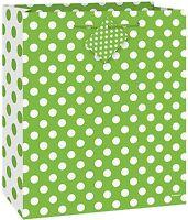 Verde de Lunares - Medio Bolsa Regalo - Puntos Fiesta Cumpleaños