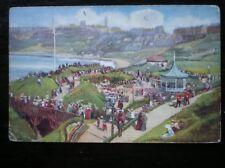 Postkarte Yorkshire Scarborough-Aquarellmalerei-vollen c1907