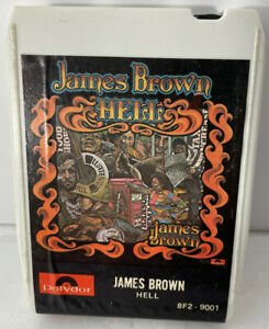 James Brown 8 TRACK Tape - HELL - Polydor 1974 Funk R&B Soul