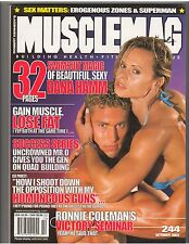 MUSCLEMAG bodybuilding muscle SWIMSUIT magazine/DANA HAMM special 10-02 #244