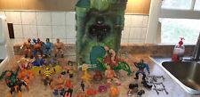 He-man ,Grey Skull Castle, Battle Cat,1981 Taiwan ++, MOTUC Vintage Lot