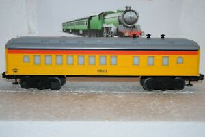 O Scale Trains Lionel Chessie Heavy Weight Illuminated Coach 9586