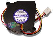 Evercool EC5015HH12EA-B  50mm x 15mm 12 Volt High Performance Blower Fan