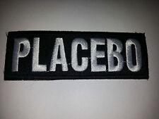 PUNK ROCK METAL MUSIC SEW ON / IRON ON PATCH:- PLACEBO (a) BLACK STRIPE