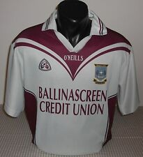 St Colm's BALLINASCREEN GAC / O'NEILLS - MENS HURLING Shirt / Jersey. Size: S