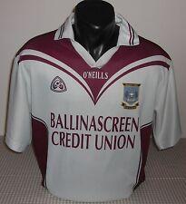 St Colm's BALLINASCREEN GAC - O'NEILLS - Mens HURLING Shirt / Jersey. Size: S
