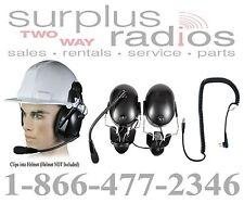 Pryme Headset Construction Motorola Radio RDU2020 RDV2020 RDU4100 RDV5100