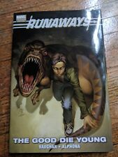 Runaways. The Good Die Young. Graphic Novel (Hardcover). Fast Shipping.