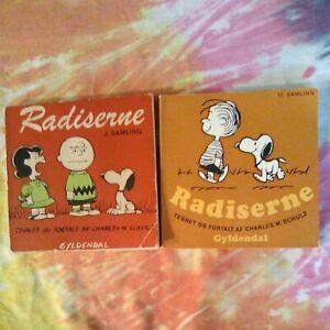 Vintage Peanuts Books in Danish