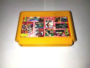 Multicart 65 in 1 cartridge Dendy Famicom Pegasus Famiclone 60 Pin NES