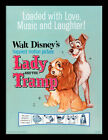 Lady And The Tramp Love, Music And Laughter - Framed 30 x 40 Official Print