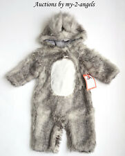 NEW Pottery Barn Kid Halloween BABY SQUIRREL WOODLAND COSTUME 6-12 9 MONTHS NWT