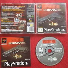 RESIDENT EVIL SURVIVOR ORIGINAL BLACK LABEL SONY PLAYSTATION PS1 PS2 PAL