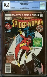Spider-Woman #1 CGC 9.6 (White Pages) New origin of Spider-Woman 1978