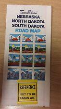 Nebraska, The Dakotas: Road Map: Travel Vision Map (M15)