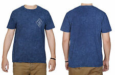 NEW LOOK Classic Acid Washed T-Shirt Blue Size S M L XL RRP £9.99