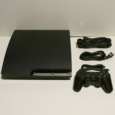 Sony Ps3 Playstation 3 Slim Console 160 Gb Bundle Controller + HDMI Cable
