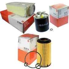 MAHLE / KNECHT Kraftstofffilter KL 723D Luftfilter LX 1686/1 Ölfilter OX 153/7D2