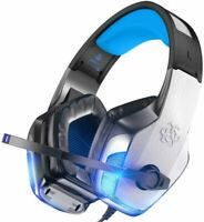 Bengoo V-4 Gaming Headset for Xbox One Ps4 Pc Noise Cancelling Headphones EL0529