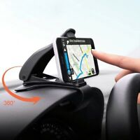 Car Dashboard Mount Holder Stand Universal 360° Stand Cradle Clip Mobile Phone