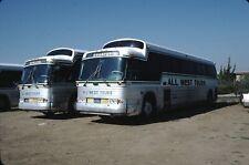 All West Tours Gm Pd 4903 Bus Kodachrome original Kodak Slide