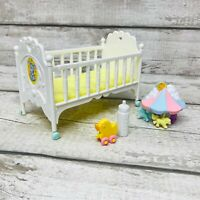 Vintage G1 MLP My Little Pony Sweet Dreams Crib Toy Playset Original Parts