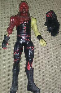 WWE Zombies Kane Action Figure With Bonus Mask Mattel Loose