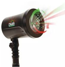 Star Night Christmas Laser Red/Green Dancing Star Shower Motion, As Seen on TV