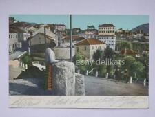 DALMAZIA Castelnuovo Herceg Novi Montenegro old postcard animata