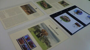 2002 Mozambique WWF stamps and first day covers with elephant information.