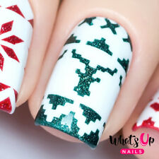 Knit Your Own Sweater Tape for Nails, Christmas Nails, Nail Art