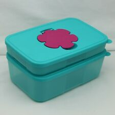 Tupperware Large & Small Wipes & Tissue Slimline Dispenser Set
