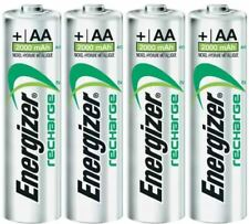 More details for energizer aa rechargeable batteries pre-charged 2000mah