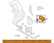 GM OEM Fuel Door-Gas Cap Hatch 95987173