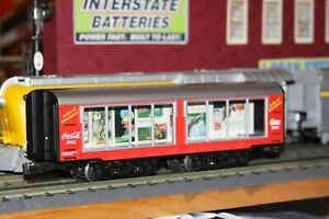 K-line O scale Coke-Cola Gallery of Refreshment car NIB # K4698-02002