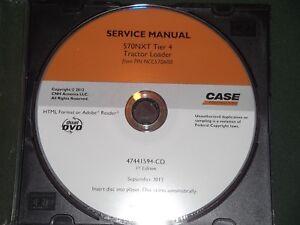 CUSTODIA 570NXT TIER 4 TRACTOR LOADER LANDSCAPER SERVICE SHOP REPAIR MANUAL