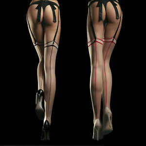 Fiore Madame 20 Sensual Back Seam Thigh High Stockings