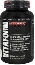 Mens Multivitamin Supplement w 6-Core Nutri Blend, Dietary Sports Age Peformance