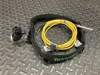 Surgical Headlight by Welch Allyn w/ Fiber Optic Cable and Head Gear