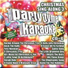 Party Tyme Karaoke Christmas Sing Along 3 [16-song CD+G] ~ New CD (2007)
