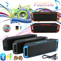 2020 Portable Wireless Bluetooth Speaker Super Bass Stereo Radio TF/USB/AUX FM