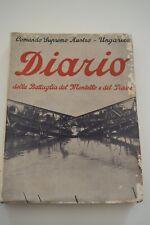 Libro - Diario della battaglia del Montello e del Piave. Ed. Marangoni 1934
